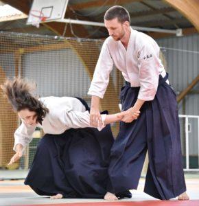 adulte valence aikido ikkyo