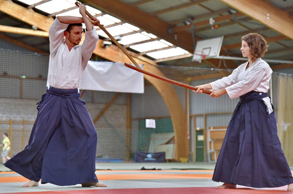 aikido valence armes adultes
