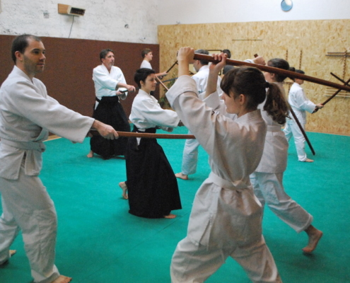 aikido valence self defense cours art martial