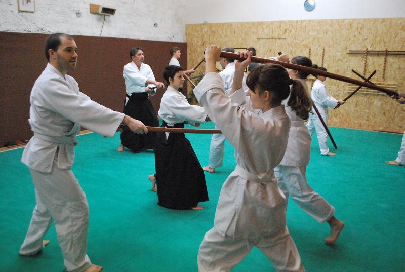 aikido valence self defense cours art martial