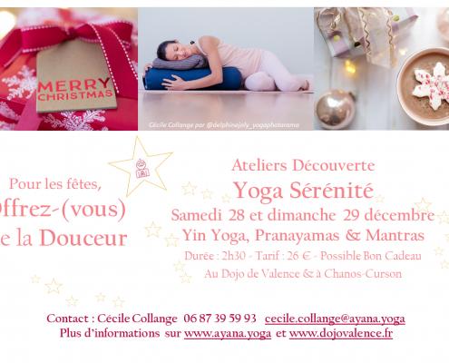Valence Yoga Dojo Sérénité Fin d'Année